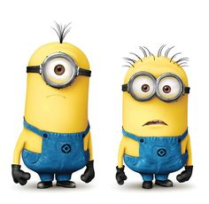 Despicable Me. Got to get me some minions!