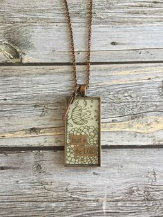 Clearance*** Trust in the Lord Necklace by WildRoseMN on Etsy