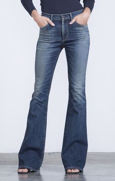 Fleetwood High Rise Flare in Harvest Moon - Denim - CITIZENS of HUMANITY. Love the look. The flare might be a little extreme on me. If only I were 2 inches taller.