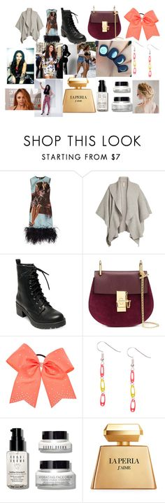 """""""Restaurant with Jesy"""" by larryandtarillforeverr14 ❤ liked on Polyvore featuring Prada, Burberry, Madden Girl, Chloé, Bobbi Brown Cosmetics and La Perla"""