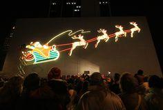 Historic Santa sign, Fort Wayne, Indiana (Photo: John McGauley)