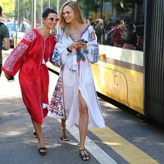 Milano summer street styling #mfw - photo by @leeoliveira