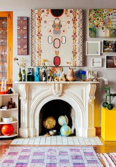 """The Bohemian chic home often has what people call a """"Morrocan"""" look but it's… Bohemian Chic Home, Bohemian Decor, Bohemian Interior, White Bohemian, Gypsy Decor, Bohemian Lifestyle, Bohemian Gypsy, Lifestyle Blog, Interior Bohemio"""