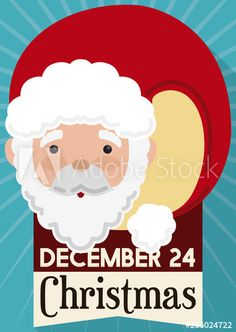 Cute Santa Claus with Reminder Date for Christmas, Vector Illustration - Buy this stock vector and explore similar vectors at Adobe Stock Christmas Illustration, Merry Christmas, Presents, Santa, Dating, Cute, Fictional Characters, Merry Little Christmas, Gifts