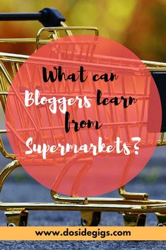 Supermarkets are the ultimate sales machines. Here's what bloggers can learn from supermarkets. #bloggingtips #blogginglessons #blogging #blogging101 Picture Blog, Blogger Tips, Blogging For Beginners, Make Money Blogging, Inspiration, Beautiful, Learning, Virtual Assistant, Seo