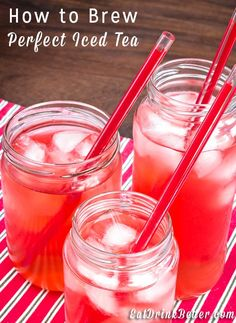 Here in the south iced tea is a way of life. Whether you like it sweet or unsweet, learning how to make homemade iced tea is the key to staying cool during a scorcher of a summer.