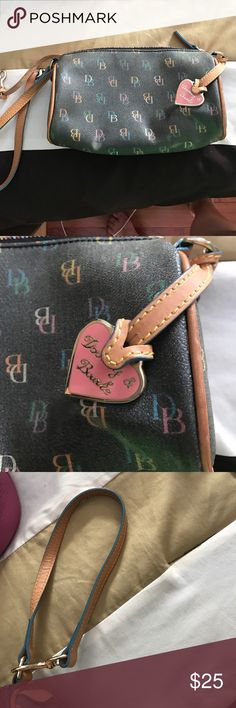 Dooney and Bourke wristlet. Very cute. Great condition. Dooney & Bourke Bags Clutches & Wristlets