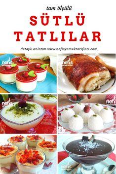 Sütlü tatlı tarifleri için hazırlanmış Türkiye'nin en nefis sütlü tatlılar listesi! Hepsi ev yapımı, tam ölçülü sütlü tatlı çeşitleri resimli ya da videolu seçenekleriyle sizleri bekliyor. Sütlü tatlılar muhallebi, kazandibi, sütlaç, keşkül, güllaç, tavukgöğsü ve çok daha fazlası için tıklayın.
