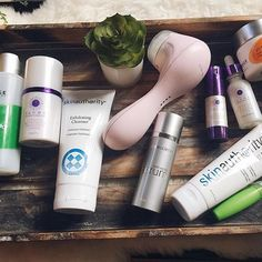 Morning beauty routine with Colorescience