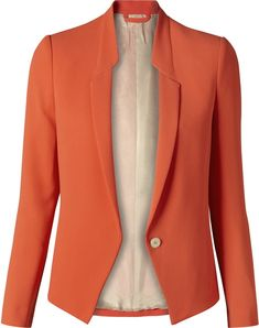 Like a drug Blazer Outfits, Blazer Fashion, Fashion Outfits, Suits For Women, Jackets For Women, Clothes For Women, Elle Moda, Uniform Dress, Striped Jacket