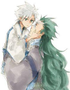 Hyorinmaru and little Toshiro