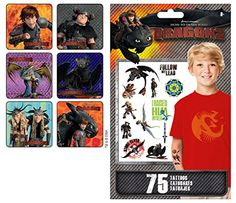 Dreamworks How to Train Your Dragon Party Supply Favor Pack of 90 Stickers with 75 How to Train Your Dragon Tattoos dreamworks http://www.amazon.com/dp/B00LZV2GNC/ref=cm_sw_r_pi_dp_upYeub1BBS207