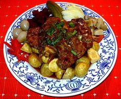 Vepřové ražniči :: Domací kuchařka - vyzkoušené recepty