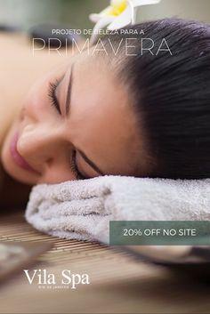 Afaste-se do estresse!  Entregue-se à massagem e relaxe a mente, elimine toxinas, reduza as medidas extras.  Cuide do seu corpo e do seu rosto. Encante, brilhe, seja mais feliz! #fds #spa #primavera 20% off p/ compras no site!