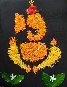 Design Discover Rangs Rangoli Designs Flower Rangoli Designs Diwali Rangoli Ideas Flower Rangoli Ganesha Art Jai Ganesh Lord Ganesha Ethnic Home Decor Indian Home Decor Rangoli Designs Flower, Small Rangoli Design, Rangoli Ideas, Rangoli Designs Diwali, Flower Rangoli, Diwali Rangoli, Easy Rangoli, Diwali Decorations At Home, Festival Decorations