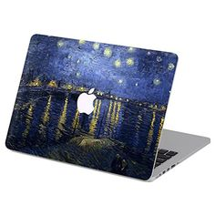 Customized Famous Painting Series Vincent Van Gogh Starry Night Special Design Water Resistant Hard Case for Macbook Pro 13 with Cd-rom Drive (Non-retina Display) Model Gift Card Mall, Macbook Air 13 Case, Macbook Skin, Laptop Skin, Macbook Pro Decal, Painting Plastic, Custom Laptop, Vincent Van Gogh, Ideas