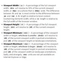 Tips para el uso de Viewport Units #CSS via @Real_CSS_Tricks en SiloMag #15 https://www.silocreativo.com/silomag-15/
