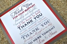 Wedding Thank you signs by JaxDesigns27 on Etsy, $4.25