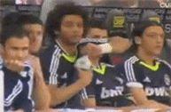 Cristiano Ronaldo being a gentleman for Marcelo
