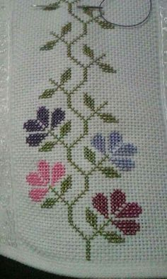 Cenefa [] #<br/> # #Crossstitch,<br/> # #Stitches,<br/> # #Cross #Stitch,<br/> # #Diy,<br/> # #Edging,<br/> # #Cross #Stitch,<br/> # #Straight #Stitch,<br/> # #Flower,<br/> # #Crafts<br/>