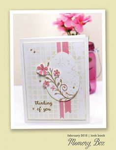 I'm so excited to share the latest look book from Memory Box Designer, and former Poppystamps Design Team Member Sherry Hester. Sherry has a great eye for composition and she is sure to inspire you with gorgeous designs for Spring in the new February 2016 Look Book. You can find her look book in the right column of this blog. Just click on the cover or click here to open the book and flip though the pages. Look books are a great way to find ideas for your favorite products and see different…
