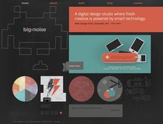 21 Beautiful Examples of Color Usage in Web Design