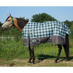Klon 600d Turnout Rainsheet Grey Plaid Color If Only It Was Available In Size 78