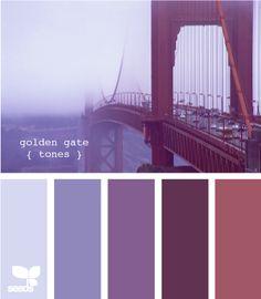 49 Ideas Kitchen Colors For Walls Purple Design Seeds For 2019 Colour Pallette, Color Palate, Colour Schemes, Color Combos, Purple Palette, Design Seeds, Kitchen Wall Colors, Colour Board, World Of Color