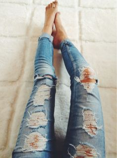 Can't go wrong with a pair of skinny jeans cause I only wear them with boots anyway (size 0)