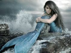 Have you ever dreamed of becoming a mermaid? I am an indigo mermaid