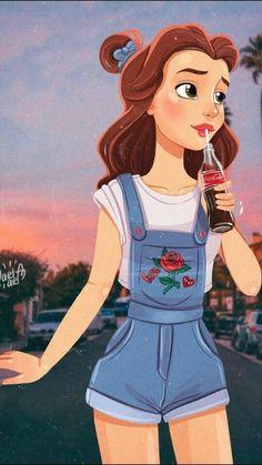 New Wall Paper Disney Rapunzel Iphone Wallpapers 68 Ideas - Disney princess wallpaper - Cute Disney Drawings, Disney Princess Drawings, Disney Princess Art, Drawing Disney, Disney Girl Characters, Rapunzel Drawing, Princess Rapunzel, Princess Belle, Anime Characters