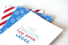 The Travellers Log Book Set   by Past Present on hellopretty.co.za
