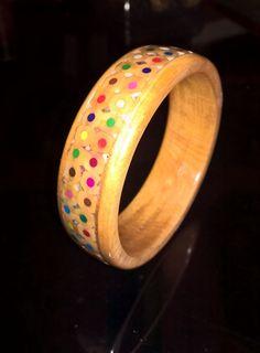 Woodturning, Bangles, Bracelets, Gold, Jewelry, Wood Turning, Jewlery, Jewels, Bracelet
