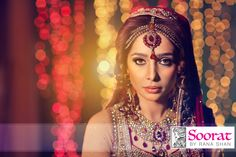 Bridal Make up with the amazing Model/Actor Juggan Kazim. Some redish brown tones used to create the semi smokey make up with a flawless foundation. make up by Sorrat  www.henna.makeup.de