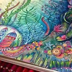 """Olá Pessoal ! Fui escolhida para a Publicidade do Livro Oceano Perdido - Johanna Basford - Editora Sextante. Então eu gostaria de apresentar a vocês o meu vídeo e minhas cores! Espero que gostem! Muito Obrigado! um Grande Beijo a todos!!! Breve teremos tutoriais. http://youtu.be/ZuXem9GsGGQ Hello my friends! I've been chosen to the advertising for Editora Sextante here in Brazil, presenting the """"Lost Ocean"""" by Johanna Basford. So I would like to enjoy with you my video and my coloring! I..."""