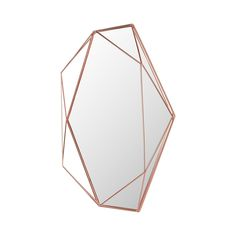 No pun intended, but the 2 Carat Mirror is a decorator's diamond in the rough. With a cool prismatic frame made from powder-coated metal, it makes a wall come alive with the illusion of depth and textu...  Find the 2 Carat Mirror, as seen in the Mid-Century Habits We Dare You To Break Collection at http://dotandbo.com/collections/mid-century-habits-we-dare-you-to-break?utm_source=pinterest&utm_medium=organic&db_sku=119664