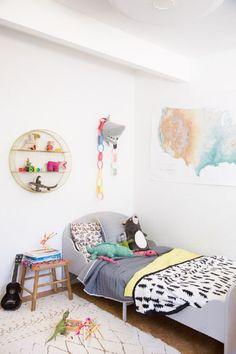 Pillowfort: A big-kid bed for a still little boy