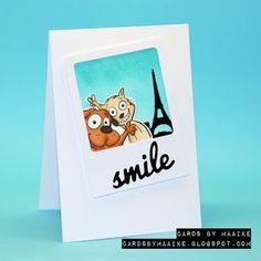 Cards by Maaike: Postcard from Paris