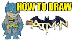 How To Draw Batman - Step By Step Drawing