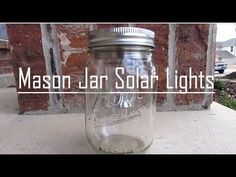 Your nights will be brighter with these mason jar solar lights. You'll have a whimsical lighting for your garden or patio with little to no cost at all!