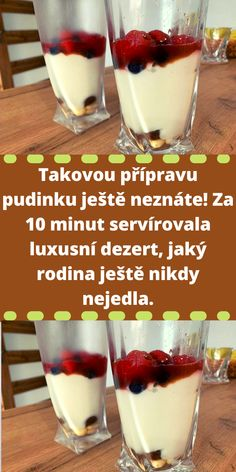 A Table, Panna Cotta, Cheesecake, Food And Drink, Low Carb, Pudding, Ethnic Recipes, Desserts, Cakes