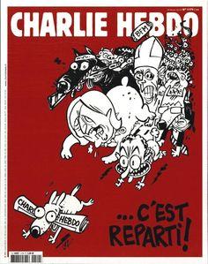 Charlie Hebdo - N° 1179 - Mercredi 25 Février 2015 - Couverture de Luz