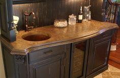 concrete countertops | Home Use Concrete Countertop | Concrete Countertops Room Design ...