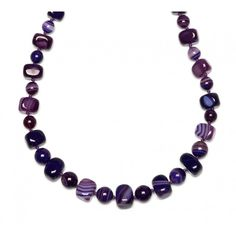 Jewellery & Gifts from Lola Rose, Dogeared, Daisy London, Satya, Bombay Duck and many more. Agate Necklace, Beaded Necklace, Daisy London, Lola Rose, Montana, Jewelry Gifts, Colour, Purple, Beaded Collar