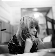 Marianne Faithfull by Gered Mankowitz , 1964