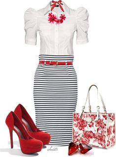 """Mixed Prints"" by christa72 ❤ liked on Polyvore"