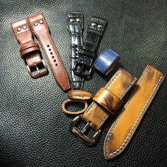 #summerleather# #handmade# #vintage# #leather# #watchstrap# #panerai# #rolex# #ancon# #sevenfriday# #IWC#