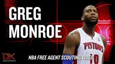 Greg Monroe 2014 Free Agent Scouting Video  Hardcore Hoops fans,  Let's Connect!!  •Check out my site: (http://slapdoghoops.blogspot.ca ).   •Like my Facebook Page: https://www.facebook.com/slapdoghoops •Follow me on Twitter: https://twitter.com/slapdoghoops •Add my Google+ Plus Page to your Circles: https://plus.google.com/+SlapdoghoopsBlogspot/posts •For any business or professional inquiries, connect with me on LinkedIn: http://ca.linkedin.com/in/slapdoghoops/