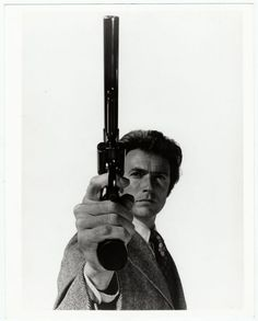 Philippe Halsman, Clint Eastwood in the film Magnum Force
