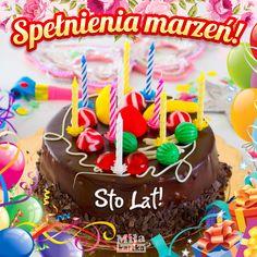 Spełnienia marżeń i Sto Lat! Happy Birthday, Birthday Cake, Birthday Celebration, Birthdays, Gifts, Funny, Happy Brithday, Anniversaries, Presents